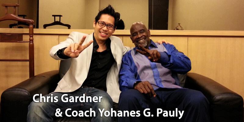 Chris Gardner & Coach Yohanes G. Pauly
