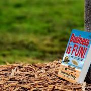 """oach Yohanes G. Pauly yang juga dikenal sebagai World's Top Certified Business Coach menulis buku bisnis berjudul """"Business is FUN!"""""""