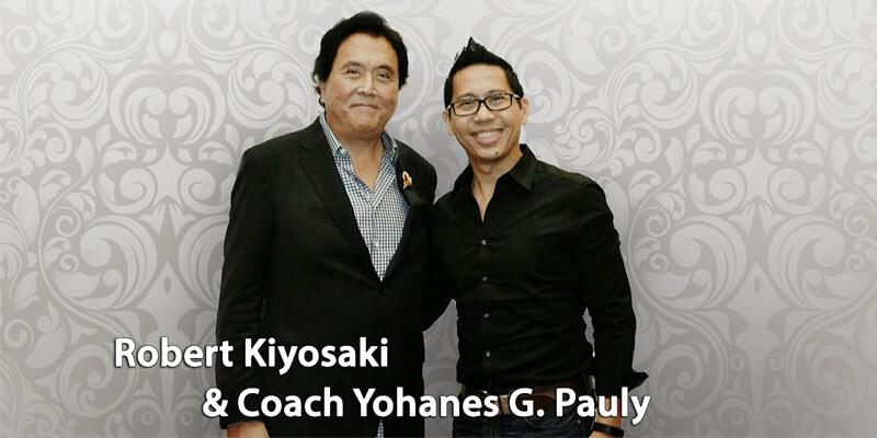 Robert Kiyosaki & Coach Yohanes G. Pauly