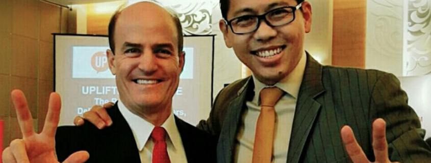 Ron Kaufman, Global Leading Customer Service Consultant Bertemu Langsung dengan Coach Yohanes G. Pauly di Jakarta
