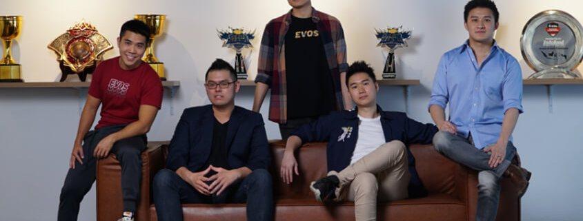 Evos Esport digital startup yang diinvestasi bisnis oleh gratyo