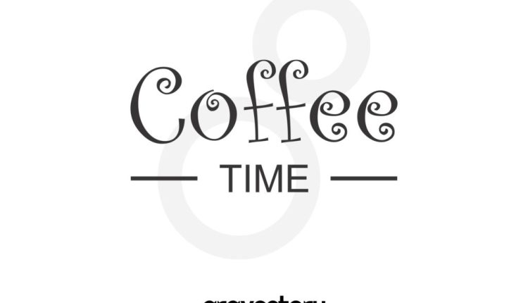 coffee time free svg