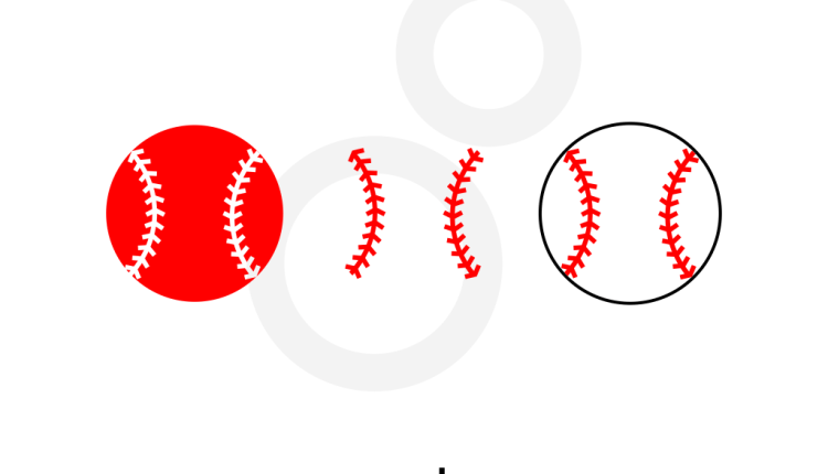 Baseball SVG