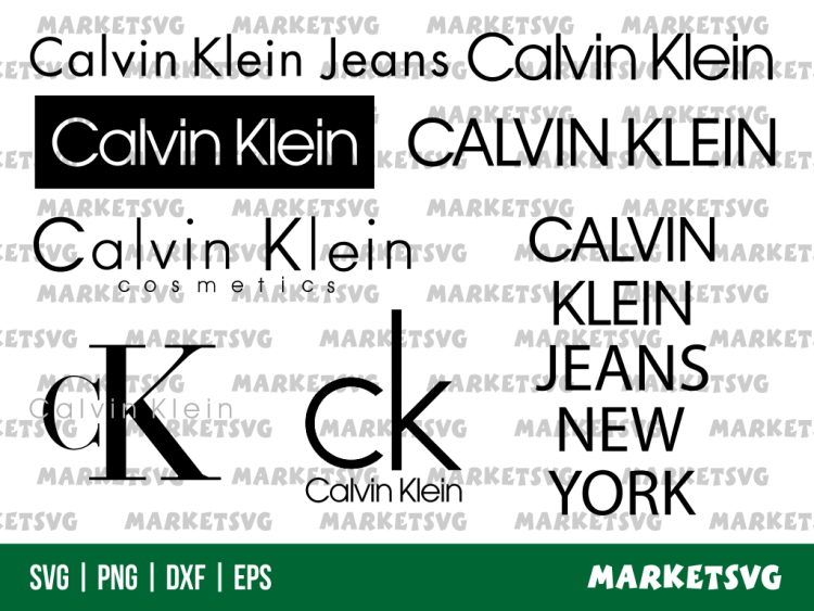 Calvin Klein Logo Svg
