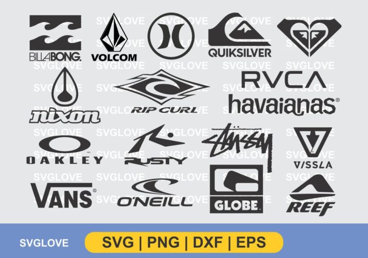 surf brand logo svg