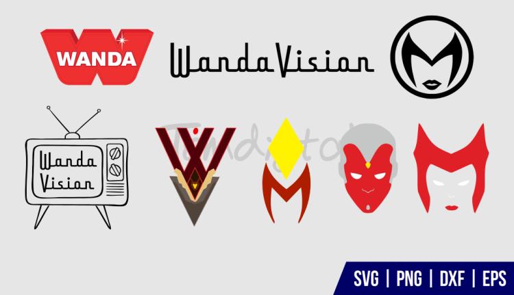 Wandavision Logo SVG