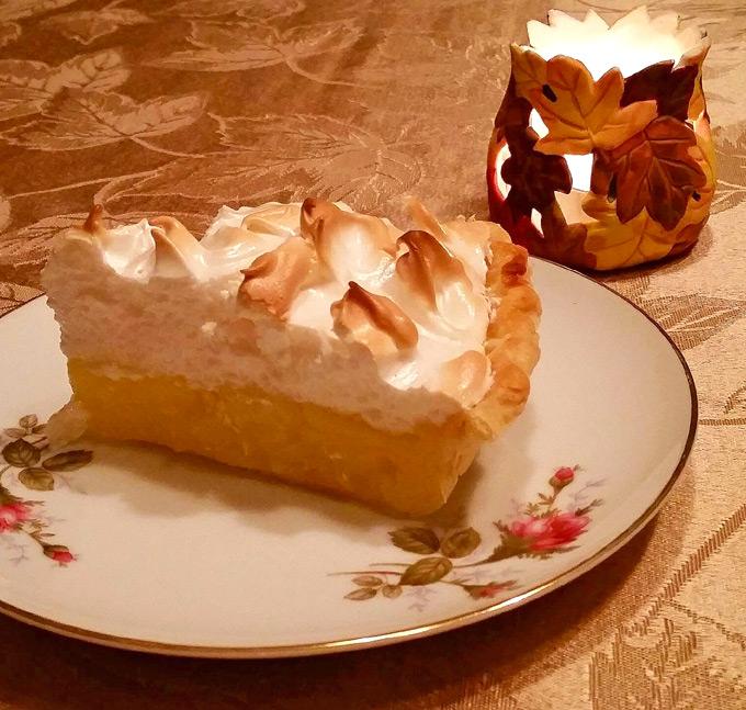 how to make lemon meringue pie crust