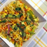 Spiralized Jicama Apple Slaw