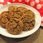Chewy Ginger Spice Cookies