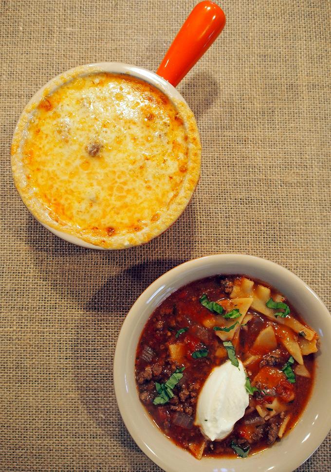 slow cooker lasagna soup gravel dine