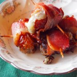 Bacon Wrapped Blue Cheese Stuffed Dates