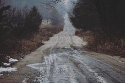 Oshawa dirt road