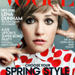 Lena Dunham in Vogue, the Issue with the Issue.