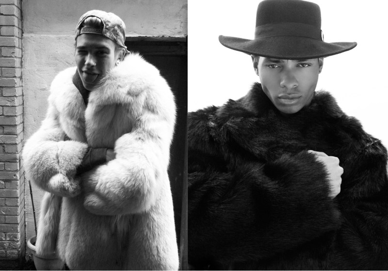 Men Wearing Fur