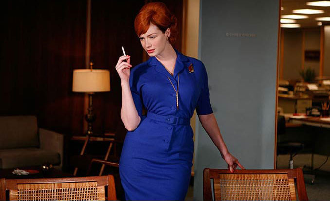 curvy Joan Holloway