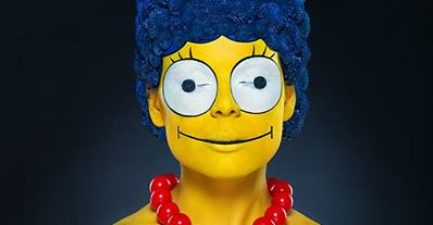Real Marge Simpson