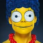 Creepy/Awesome Real Life Marge Simpson