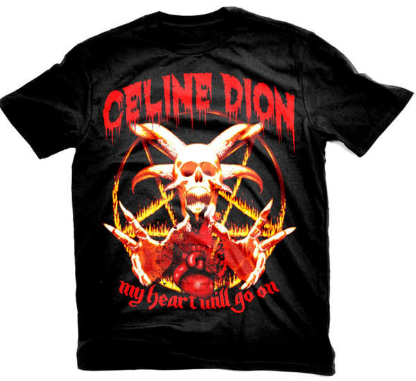 death metal celine dion