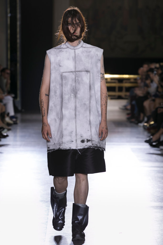Rick Owens Menswear SS 2015
