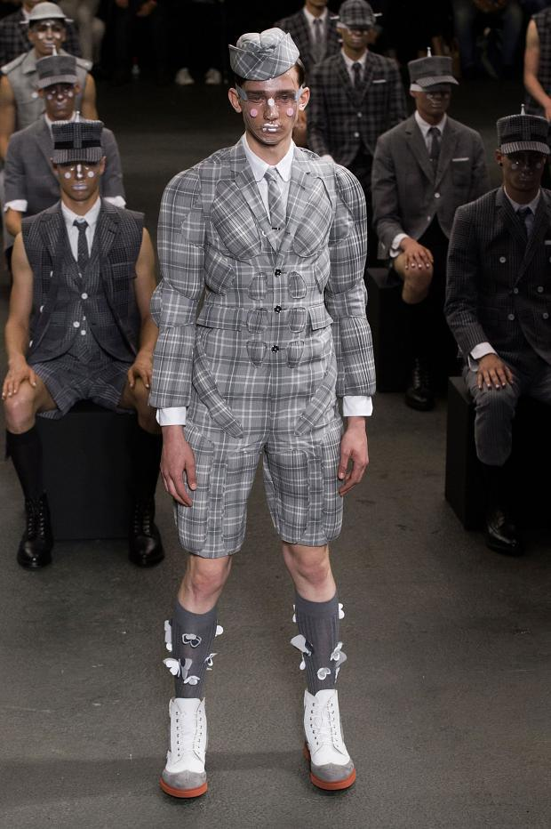 Thome Browne Menswear SS 2015