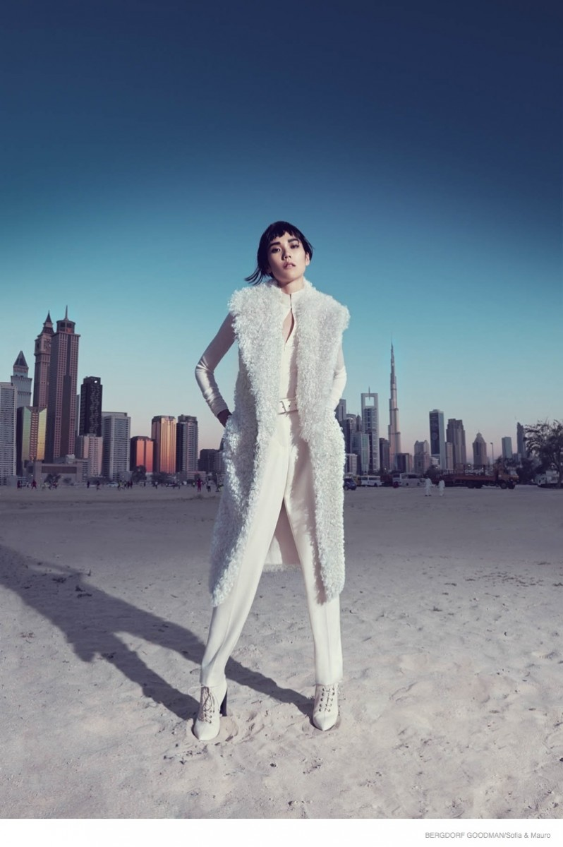 Tao Okamoto for Bergdorf Goodman's Fall Catalogue (19)