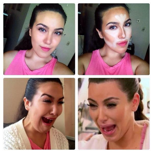 #makeuptransformation