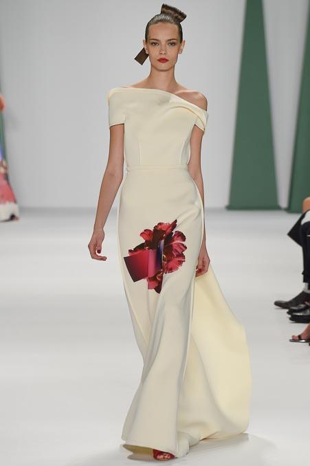 Carolina Herrera Ready To Wear SS 2015 NYFW