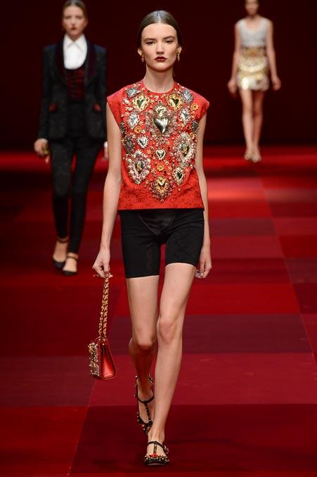 Dolce & Gabbana SS 2015 MFW (10)