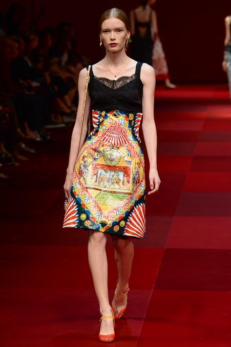 Dolce & Gabbana SS 2015 MFW (19)