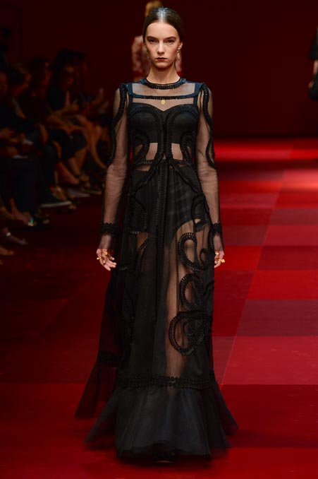 Dolce & Gabbana SS 2015 MFW (25)