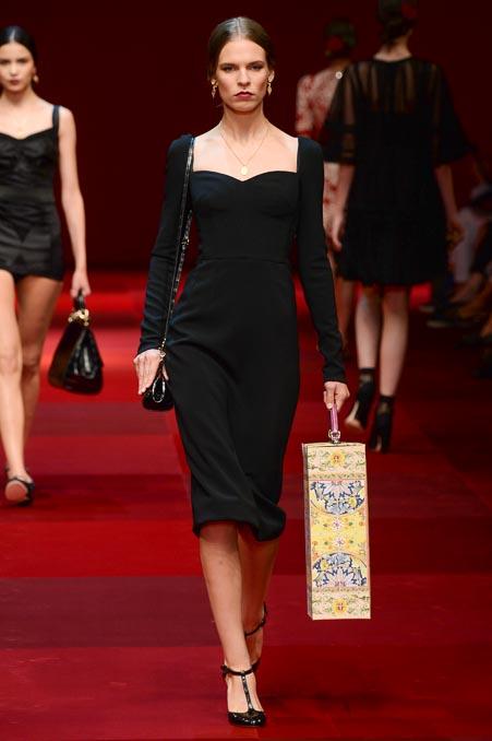 Dolce & Gabbana SS 2015 MFW (29)