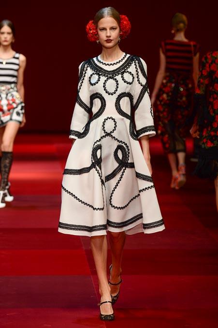 Dolce & Gabbana SS 2015 MFW (38)
