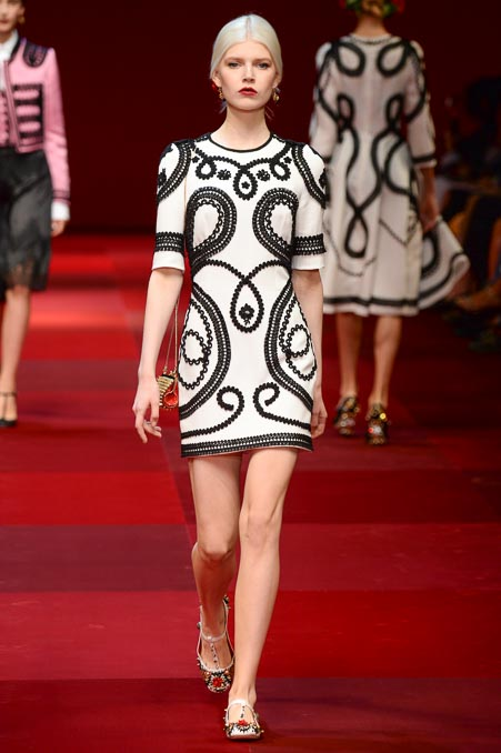 Dolce & Gabbana SS 2015 MFW (41)