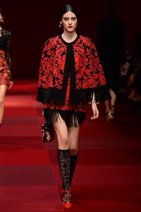 Dolce & Gabbana SS 2015 MFW (56)