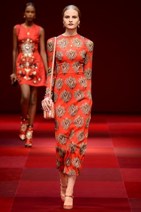 Dolce & Gabbana SS 2015 MFW (60)