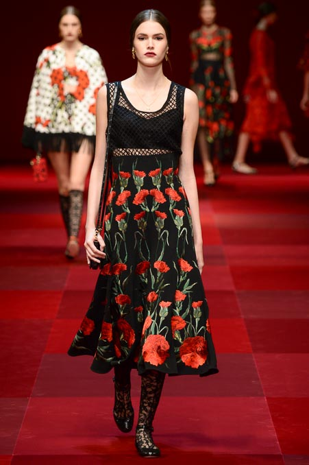 Dolce & Gabbana SS 2015 MFW (69)