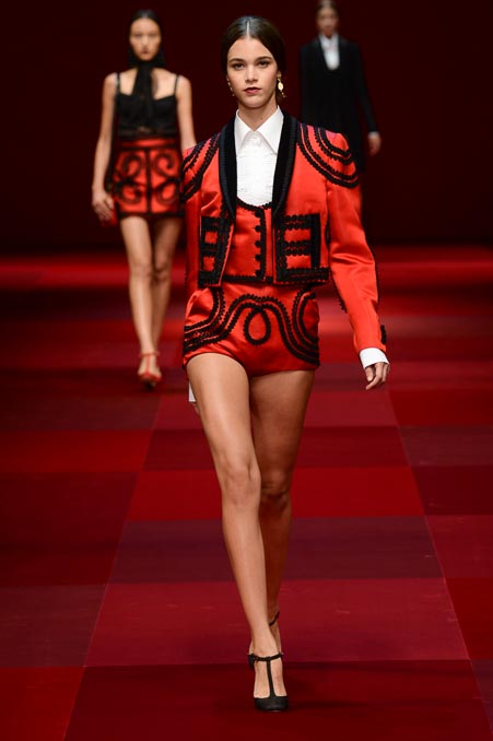 Dolce & Gabbana SS 2015 MFW (7)