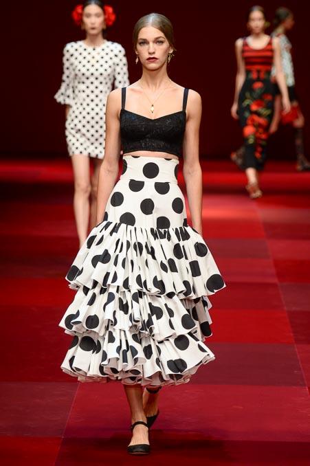 Dolce & Gabbana SS 2015 MFW (74)