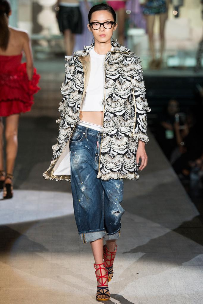 Dsquared² SS 2015 MFW (28)