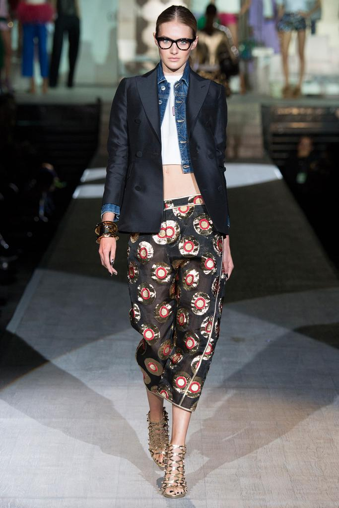 Dsquared² SS 2015 MFW (35)