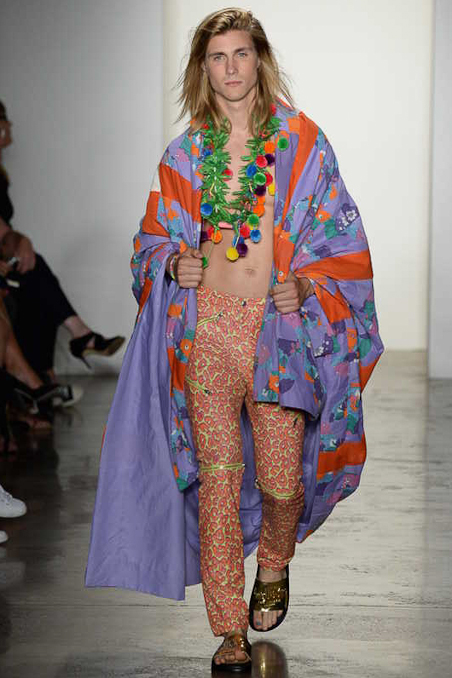 Jeremy Scott Ready To Wear SS 2015 NYFW