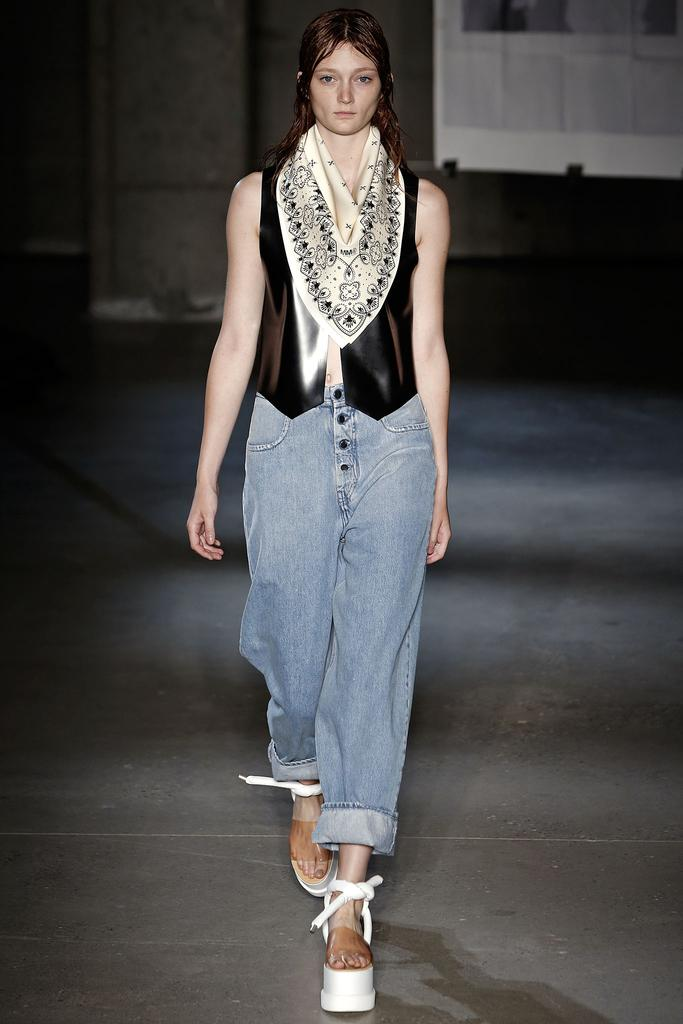 MM6 Maison Martin Margiela Ready To Wear SS 2015 NYFW