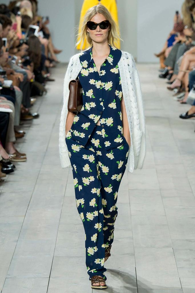 Michael Kors Ready To Wear SS 2015 NYFW (4)