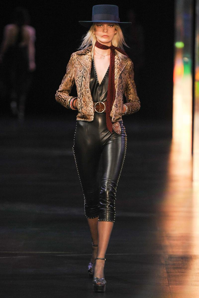 Saint Laurent SS 2015 PFW (12)