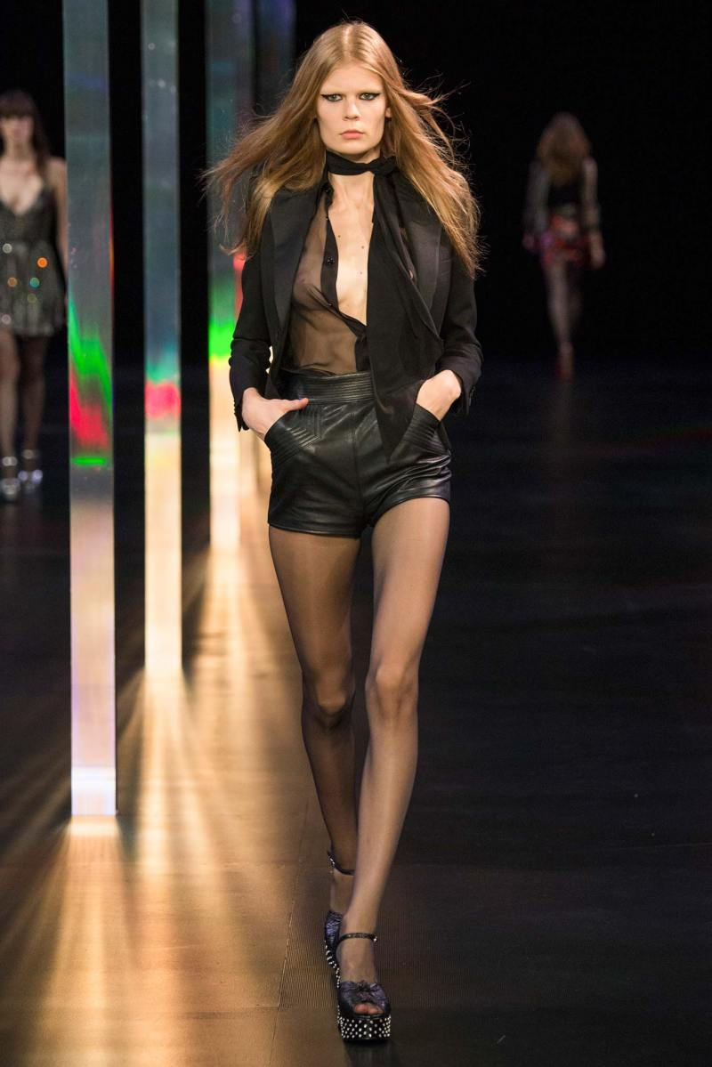 Saint Laurent SS 2015 PFW (53)