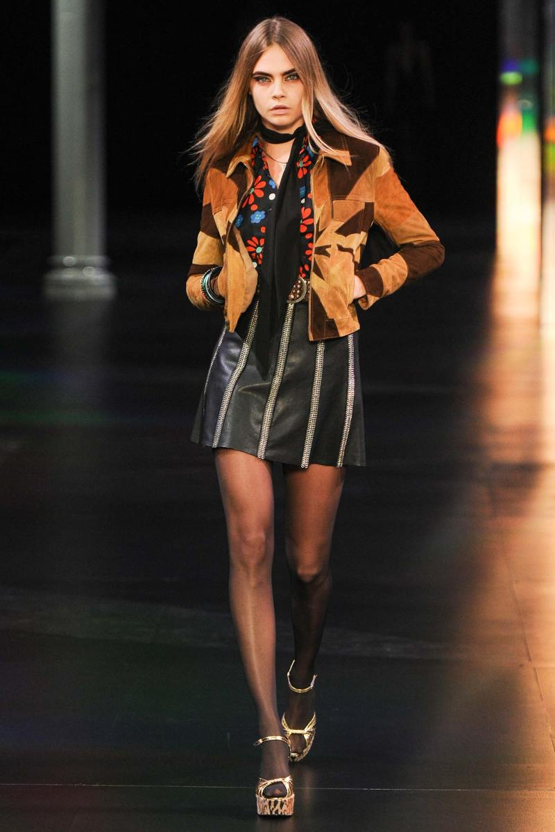 Saint Laurent SS 2015 PFW (8)