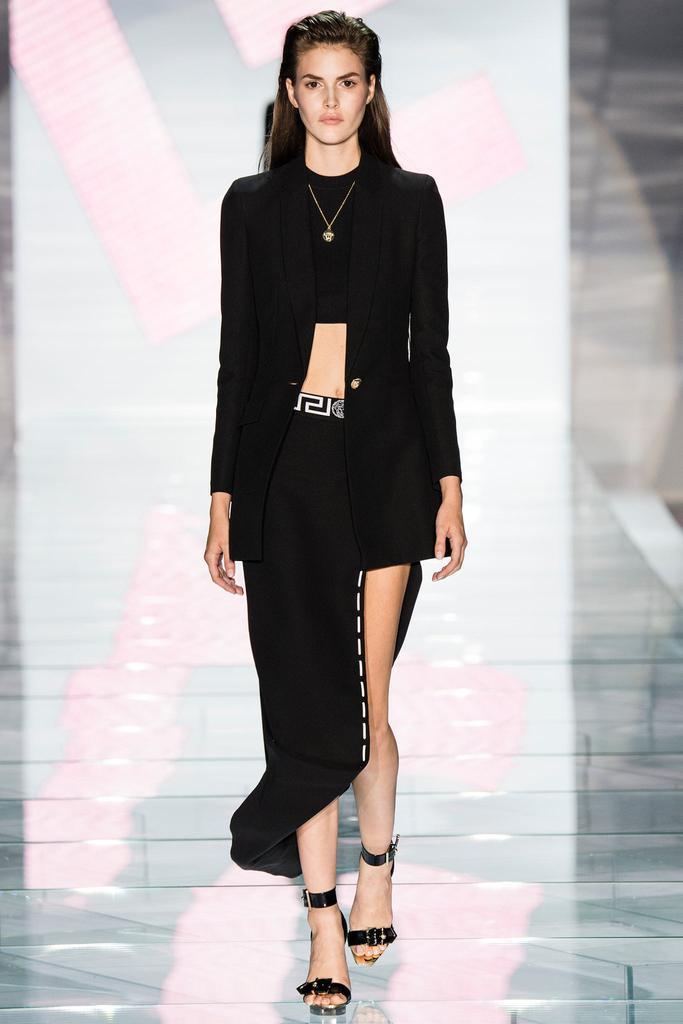 Versace ss 2015 mfw