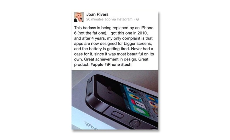 Joan Rivers Iphone 6