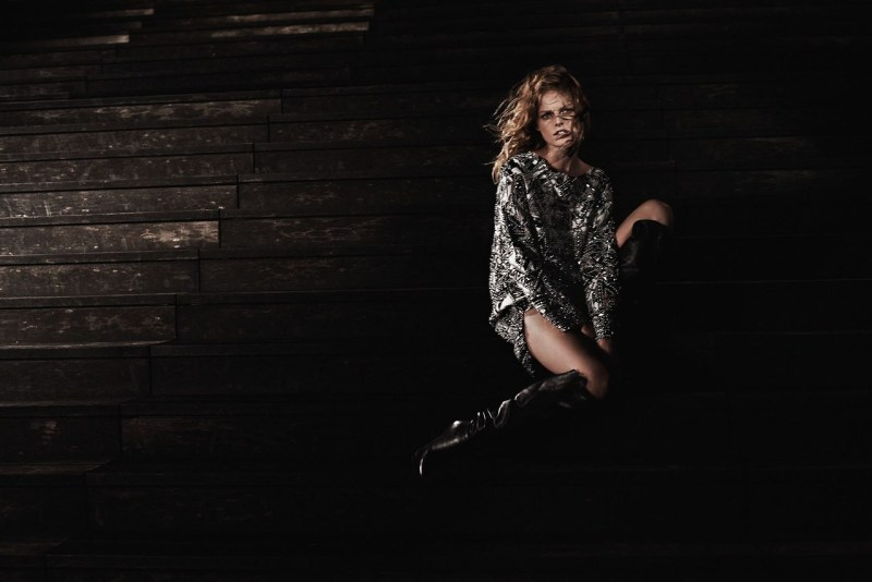 Hanne Gaby Odiele by photographer Vanmossevelde