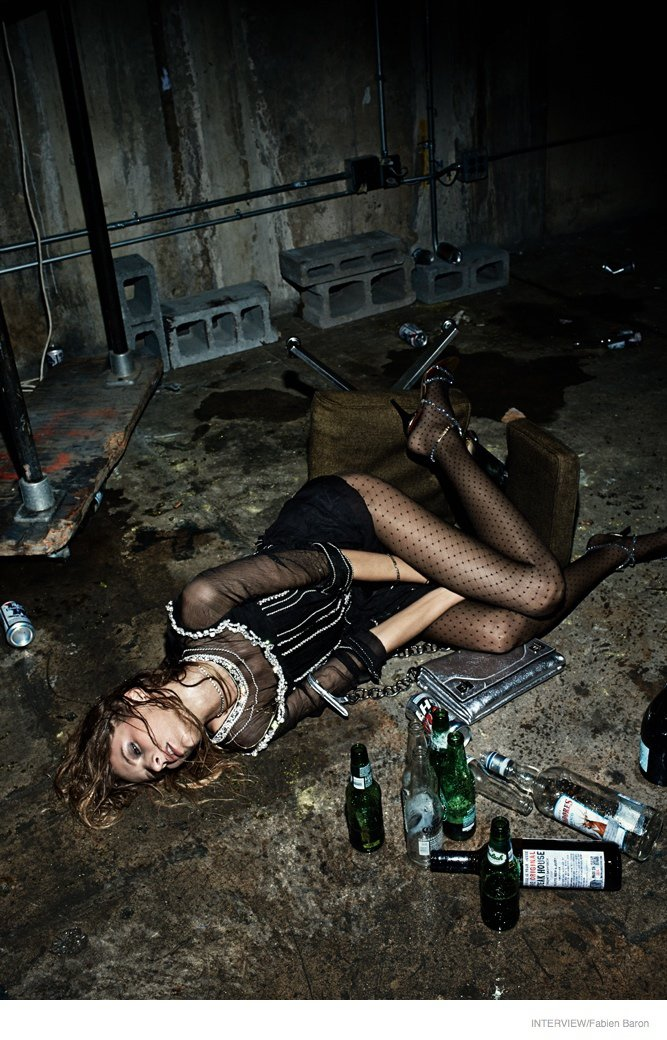 'Pretty Wasted' photoshoot by Fabien Baron